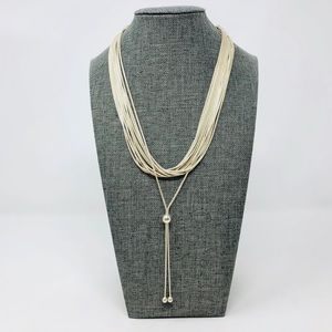 Like 🆕  sterling layered, tassel necklace, 44.7g